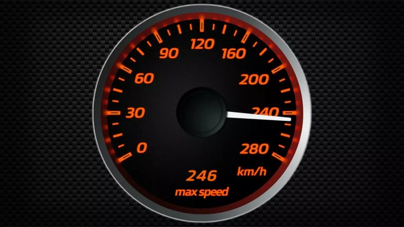 Speedometer, reduce your carbon footprint