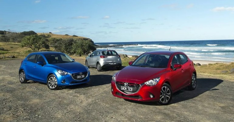 Mazda 2 exterior | T W White & Sons Blog