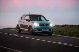 suzuki ignis driving with lights on