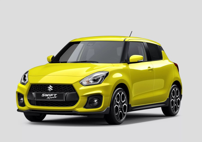 2018 Suzuki Swift Sport Front View