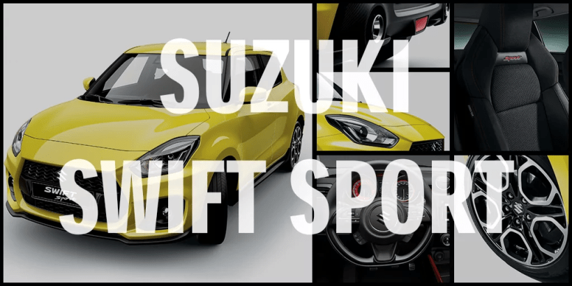 2018 suzuki swift sport cover photo
