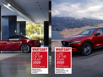 2020 WhatCar Awards Mazda cover photo
