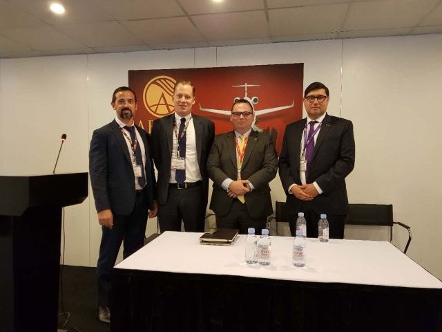 UAS Discussed Aircraft Cyber Security at ABACE2018