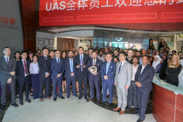 UAS and Sichuan Airlines Celebrate A Decade of Partnership