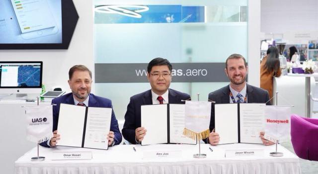 UAS and Honeywell GoDirect bring UAS LinkEvolution™ to Hongkong Jet