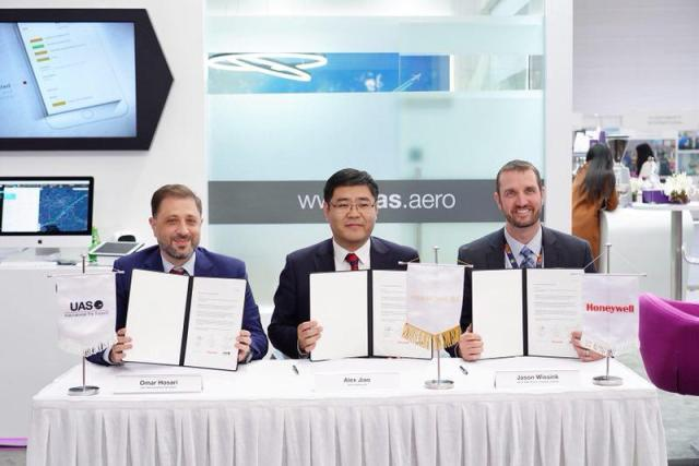 UAS and Honeywell GoDirect bring UAS LinkEvolution™ to Hongkong Jet