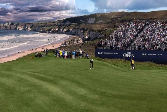 Belfast Airports for the British Open Portrush