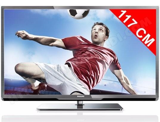 vente tv led 117 cm televiseur