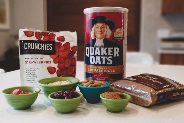 Oatmeal Recipe Ingredients Quaker