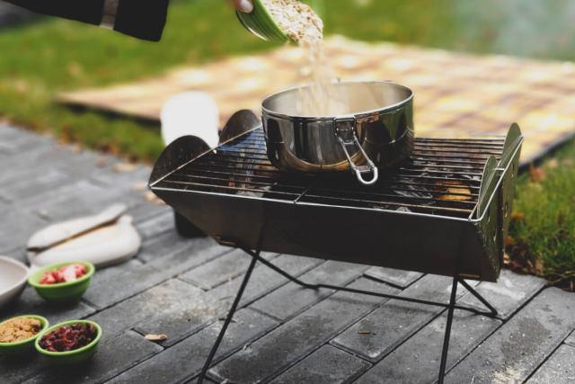 Oatmeal Recipe Pouring Oats