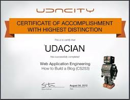 Finished your final? Get an official Udacity certificate
