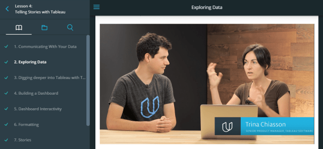 Data Career Success - Tableau - Udacity