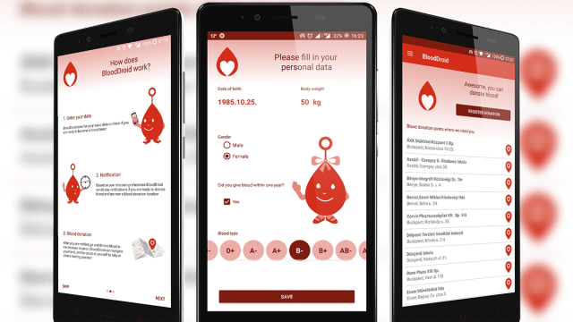 Udacity -BloodDroid -App That Can Save Lives