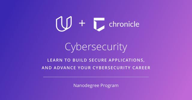 Udacity - Chronicle - Cybersecurity Nanodegree program