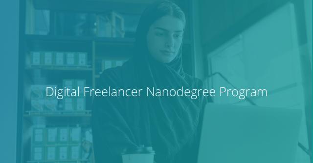 Udacity Digital Freelancer Nanodegree program - MENA