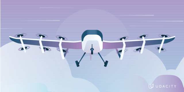 What is a flying car illustration