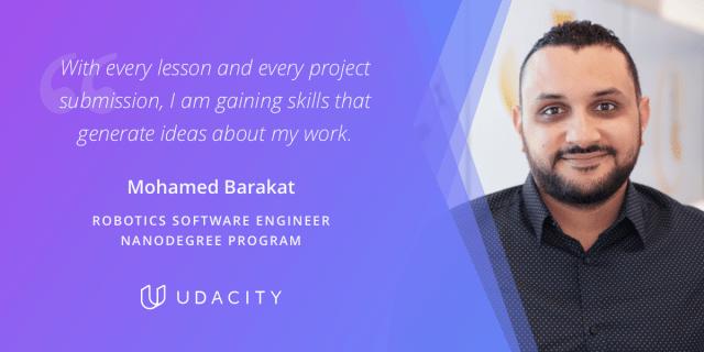 Mohamed Robotic Engineer Nanodegree program student