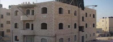 """בנייה ערבית """"חוקית"""" למהדרין"""