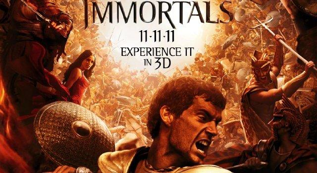 """הסרט """"בני אלמוות"""" (Immortals) – רק אם אתם ממש חייבים (או מכורי הז'אנר)"""