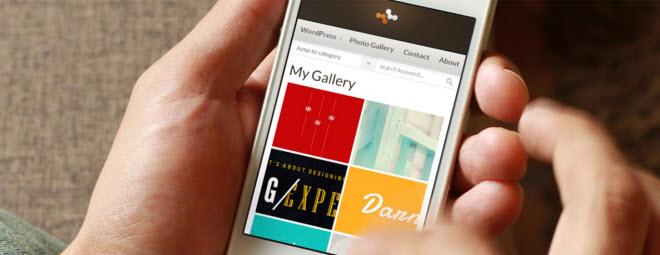 תבנית Graphene לוורדפרס והתאמת האתר למכשירים ניידים