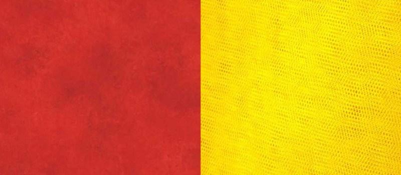 בין צהוב לאדום