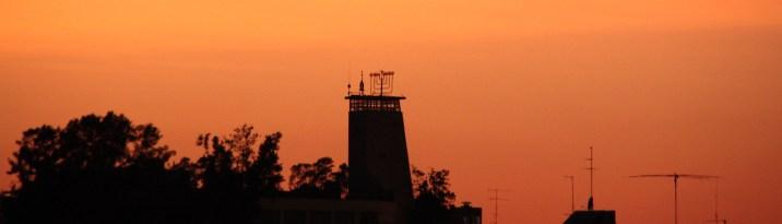 שעות הדמדומים מגג ביתנו – יוני 2011