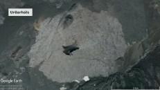 Luftbild: Vulkan Urðarháls