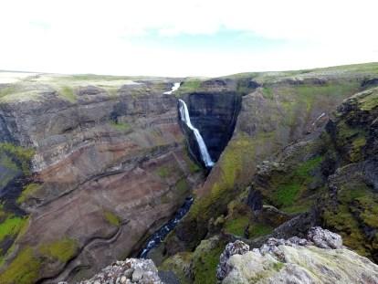 Wasserfall: Háifoss