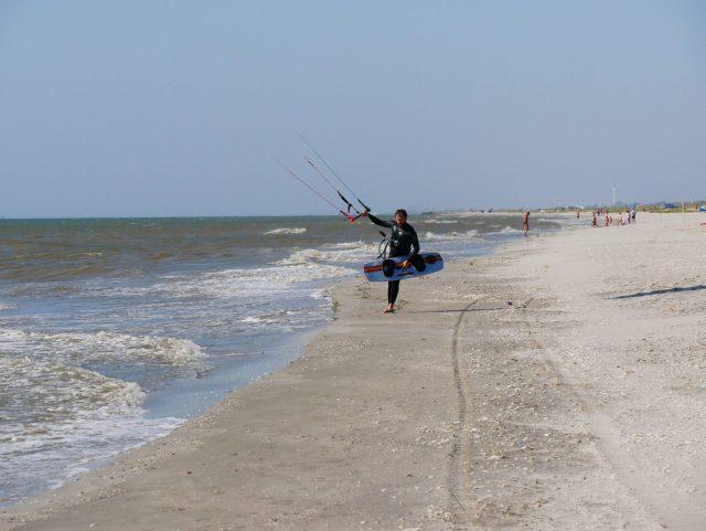 Kitesurfen Plaja Vadu
