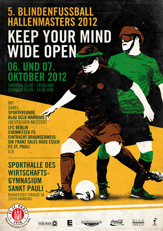 Blindenfussball Masters 2012 - Keep your mind wide open