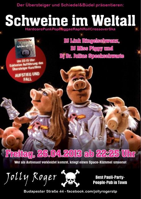 Schiedel und Büdel - Schweine im Weltall