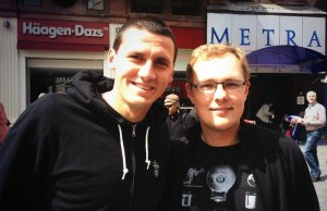 Zwei Fanboys: @felgenralle und @rafanelli