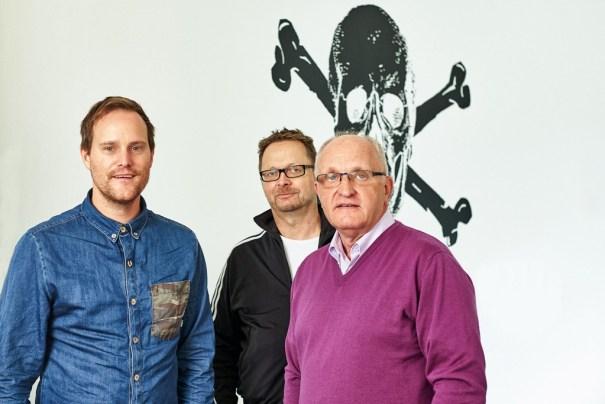 (von links: Oke Göttlich, Thomas Happe, Jochen Winand)