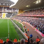 City Fans im Unterrang bei den Wolves