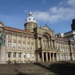 Das Rathaus von Birmingham