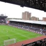 der alte North Stand des Boleyn Ground