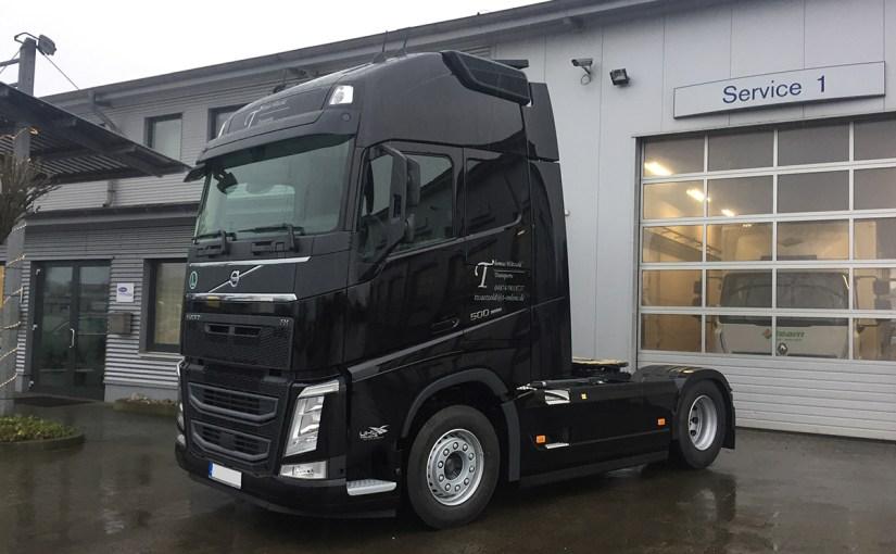 Neufahrzeug Thomas Wätzold Transporte, Volvo FH