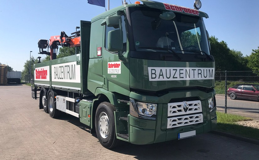 Neufahrzeug Schröder Bauzentrum, Renault Trucks
