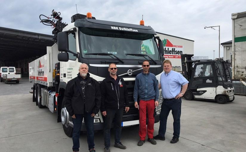 Neufahrzeug HBK Dethleffsen, Volvo FM