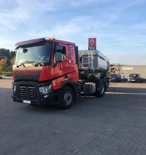Auslieferung Daniel Sievers, Renault Trucks Optitrack & Schwarzmüllermulde