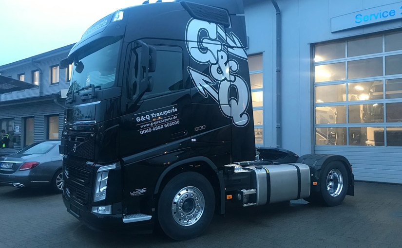 Neufahrzeug G & Q Transporte, Volvo FH
