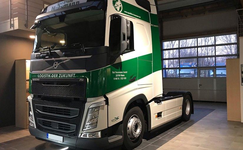 Neufahrzeug Spedition Huesmann, Volvo FH