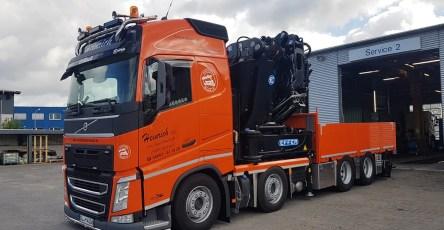 20190606-Krantransporte-Heinrich-Volvo-FH-Kran-1