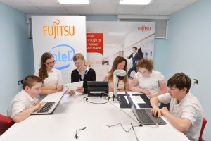 Fujitsu partners with Thames Valley School to help young people with autism