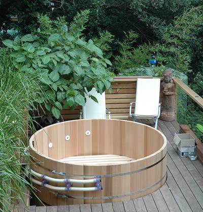 2.1m in diameter original hot tub installed in Hunters Hill, NSW