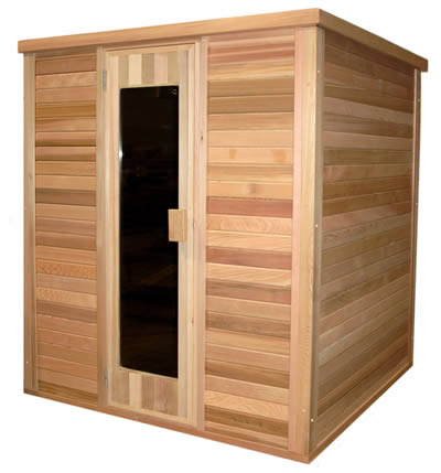 Ukko traditional finnish sauna kit 2 x 2 meters