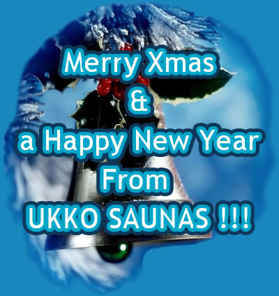 Merry Xmas From Ukko Saunas