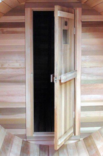 Cedar Traditional sauna door