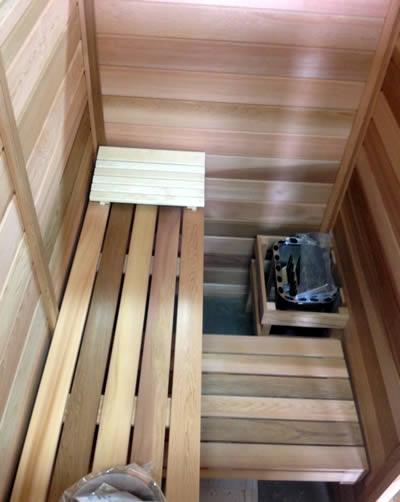 Custom Made Ukko Log Sauna
