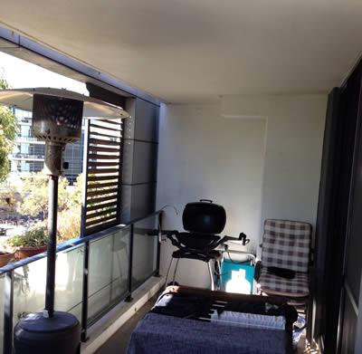 Room before sauna installation